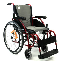 S-125 Ergonomic Ultra Lightweight Wheelchair