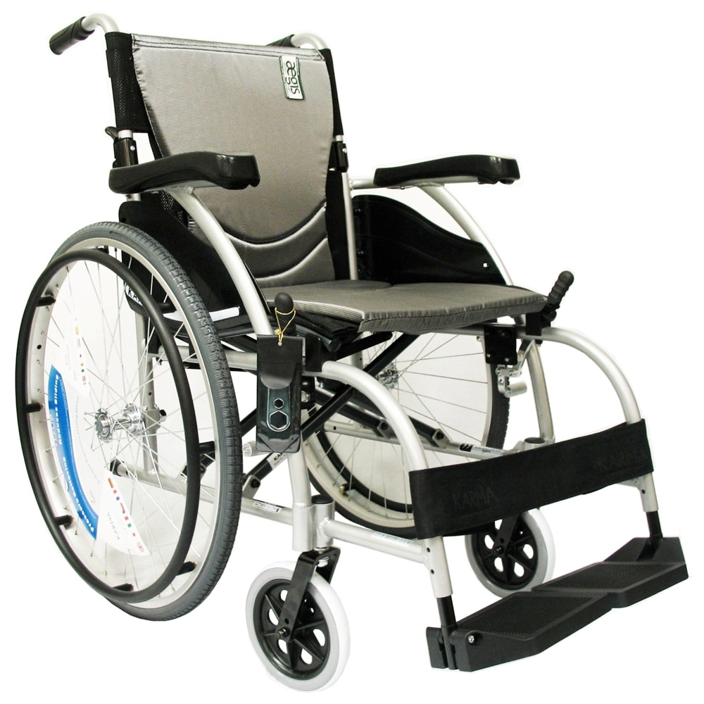 karman s 105 ergonomic ultra lightweight wheelchair 16 x. Black Bedroom Furniture Sets. Home Design Ideas