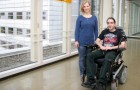 Wheelchairs that can be steered by ears