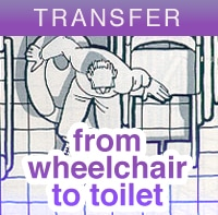 How To Transfer From Wheelchair To Toilet