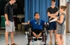Students Create Rowing Wheelchair For Pedro